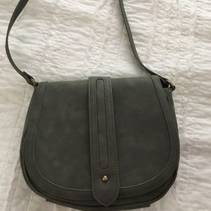 Express light olive crossbody bag